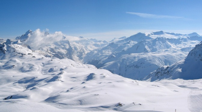 Snowboarding Val D'Isere Panoramas